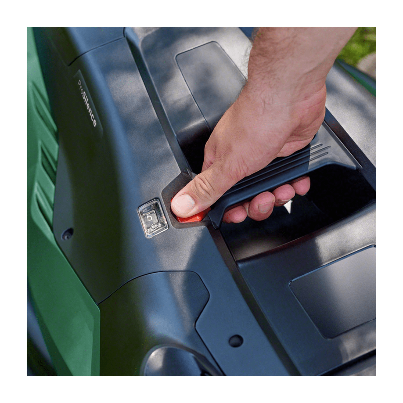 Електрическа косачка Bosch UniversalRotak 750 PowerDrive - 1700 W, 45 см, 50 л