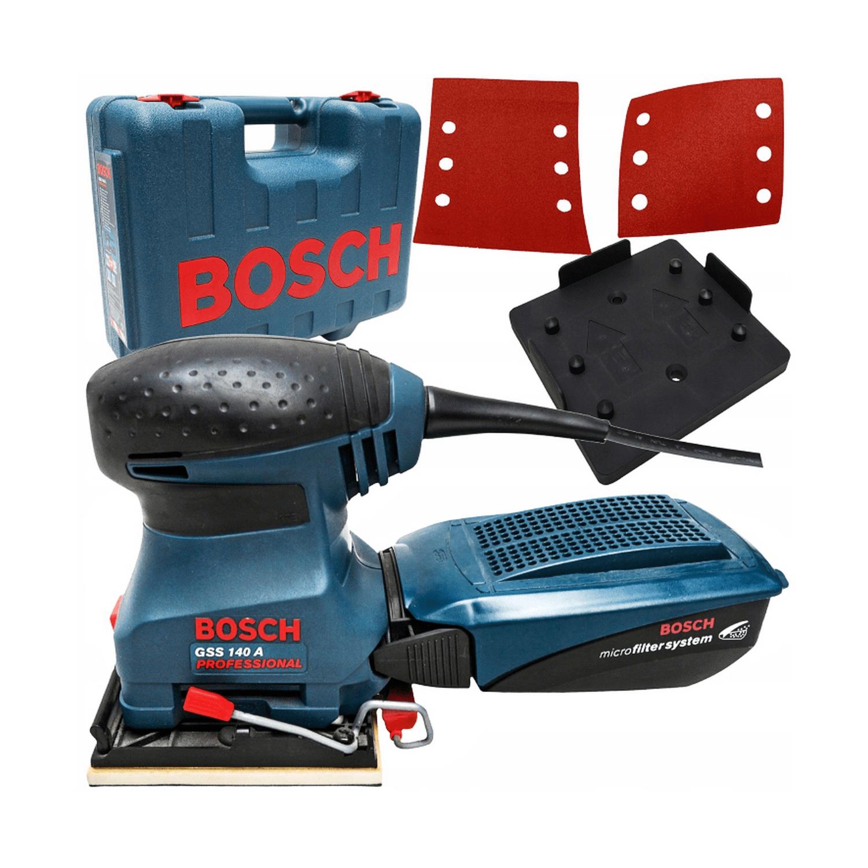 Виброшлайф Bosch GSS 140 A - 180 W, 24 000 вибр./мин, 115х140 мм