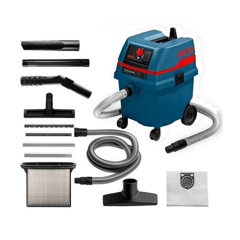 Прахосмукачка за сухо и мокро почистване Bosch GAS 25 L SFC - 1200 W, 3660 л/мин, 25 л