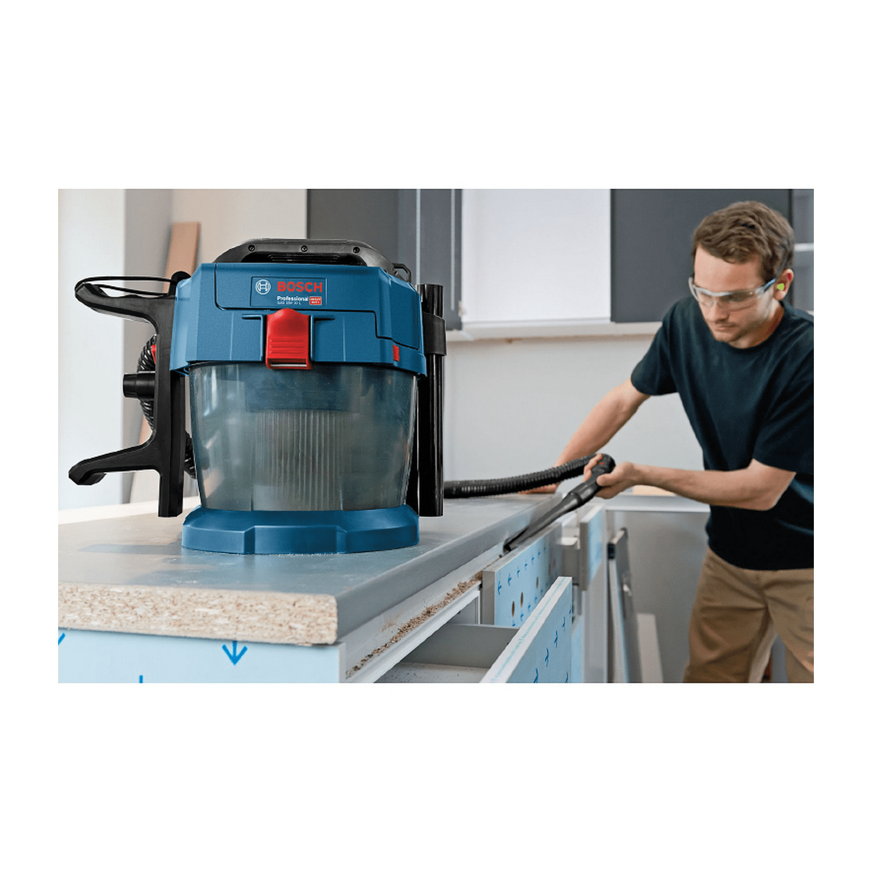 Акумулаторна прахосмукачка за сухо почистване Bosch GAS 18V-10L Professional - 18.0 V, 1440 л/мин