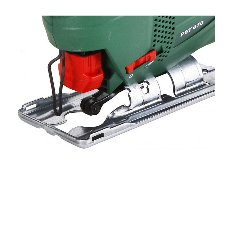 Прободен трион Bosch PST 670 - 500 W, 20 мм, 3100 об./мин, 67 мм в дърво