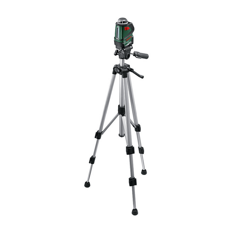 Линеен лазерен нивелир с тринога Bosch PLL 360 Set с 2 лъча, 20 м, 0.4 мм/м