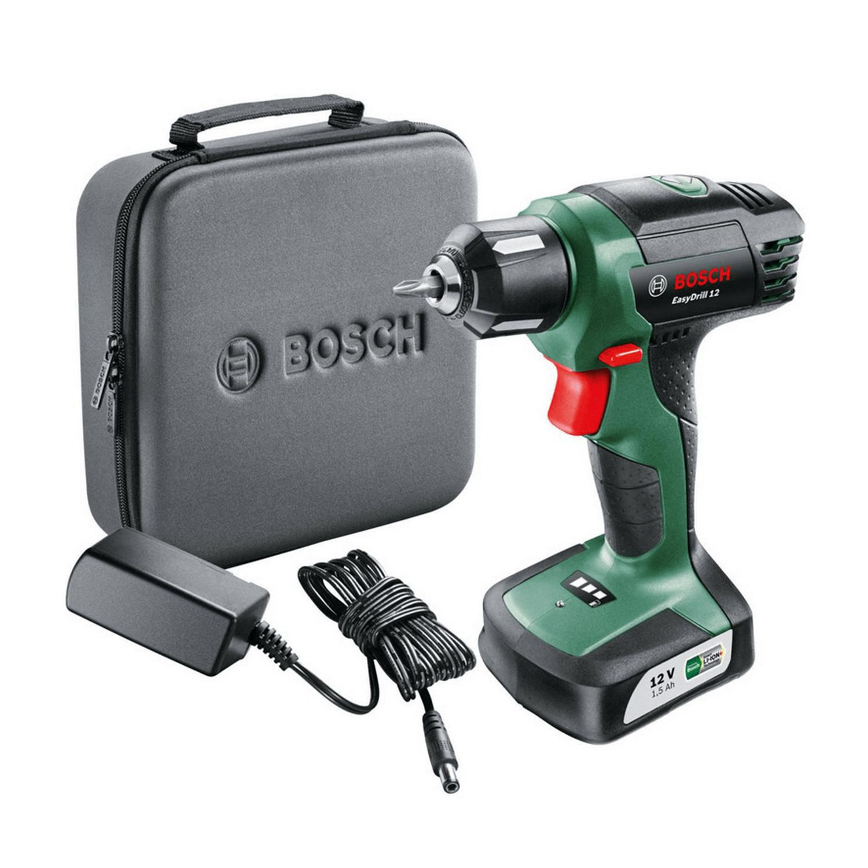Акумулаторен винтоверт Bosch EasyDrill 12 - 12 V, 1.5 Ah, 6/15 Nm