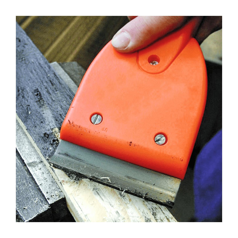Ръчен строителен пластмасов шабър Edma Technoclean 60 - 460x215 мм