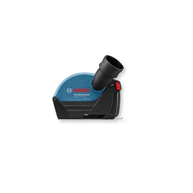 Предпазител за ъглошлайф прахоулавящ Bosch GDE 125 EA-S - ф 115-125 мм