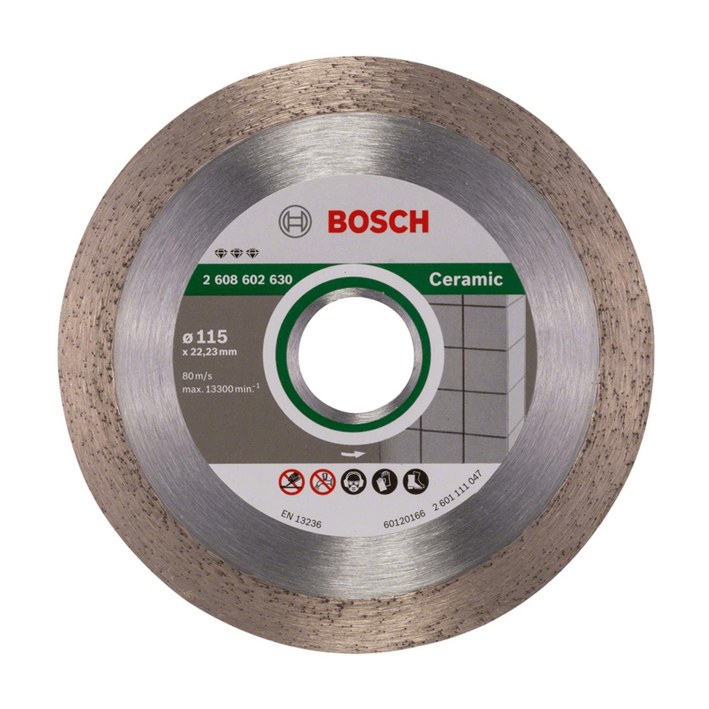 Диамантен диск за сухо рязане на керамични плочки Bosch Best for Ceramic - ф 115х22.23 мм