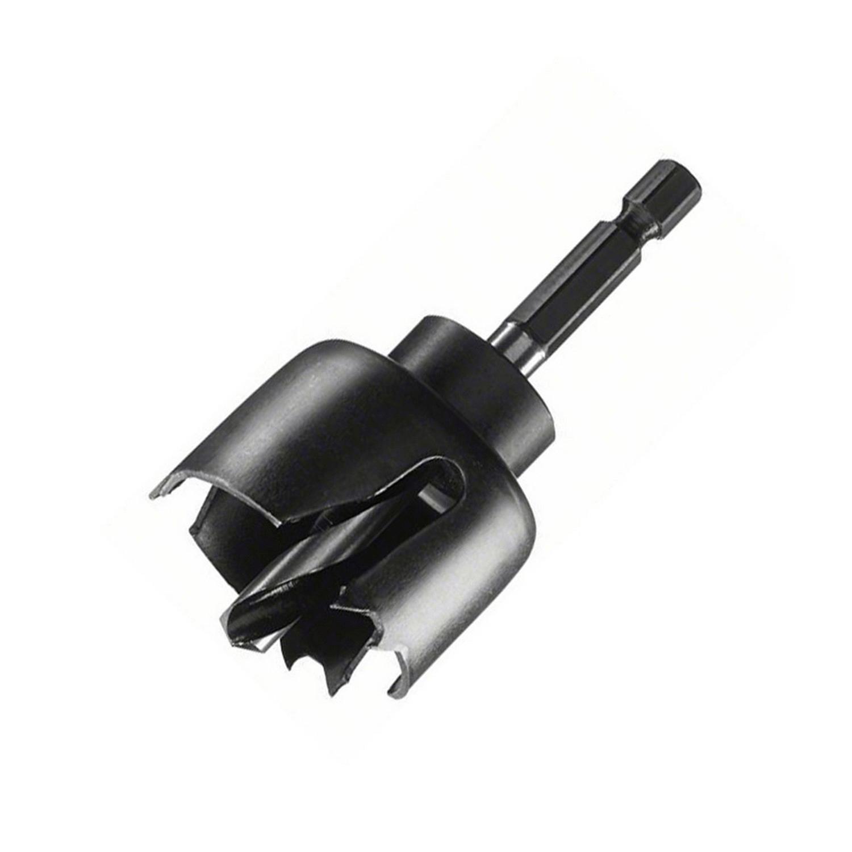 Боркорона за дърво с държач захват 1/4 Bosch - ф 38 мм