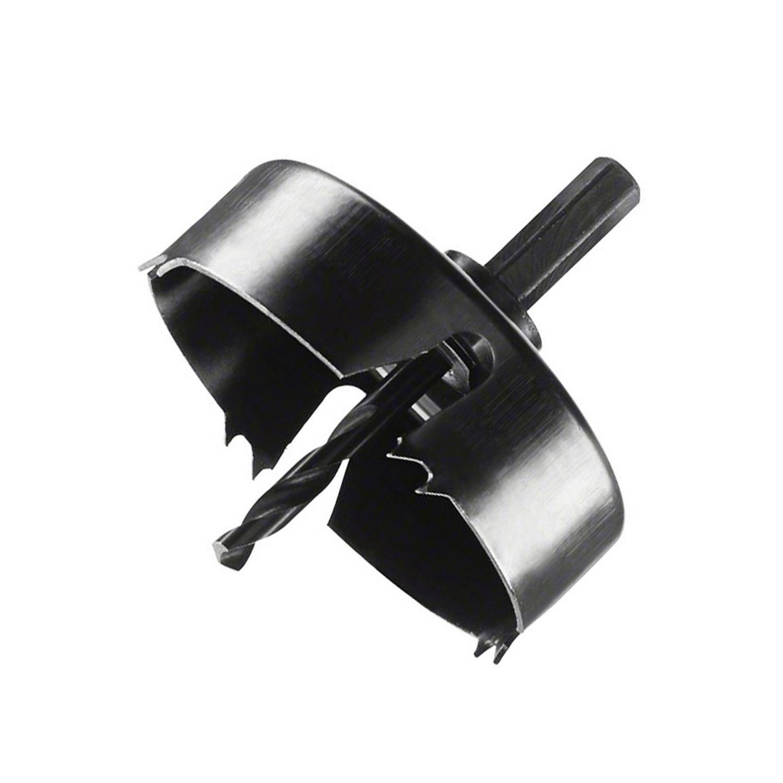 Боркорона за дърво с държач захват 1/4 Bosch - ф 80 мм