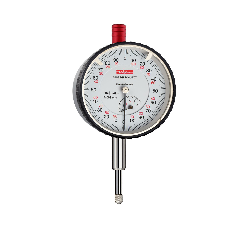 Индикаторен удароустойчив часовник Käfer FM 1000/5 S / 0-5 mm, 0,001 mm