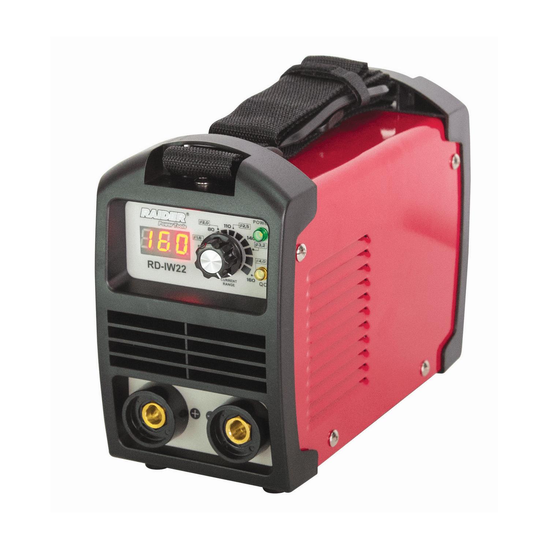 Инверторен електрожен Raider RD-IW22 - 230 V, 10-160 А