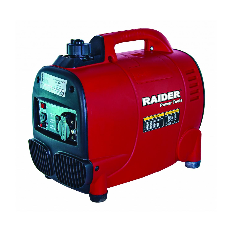Бензинов инверторен генератор за ток Raider RD-GG05 - 230 V, 1000 W