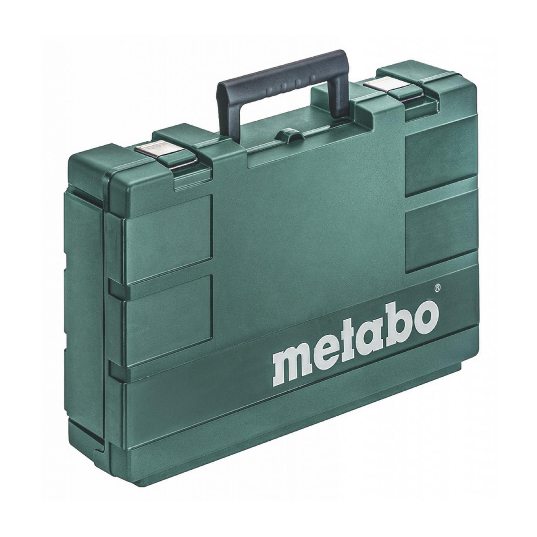 Куфар за малки ъглошлайфи Metabo MC 20 WS