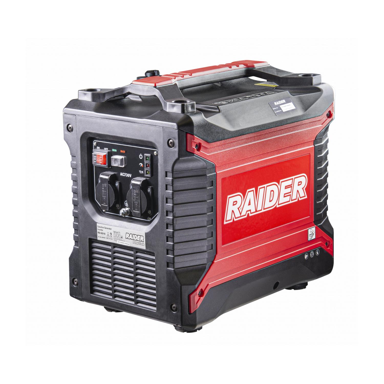 Бензинов генератор Raider RD-GG10 - 2500 W