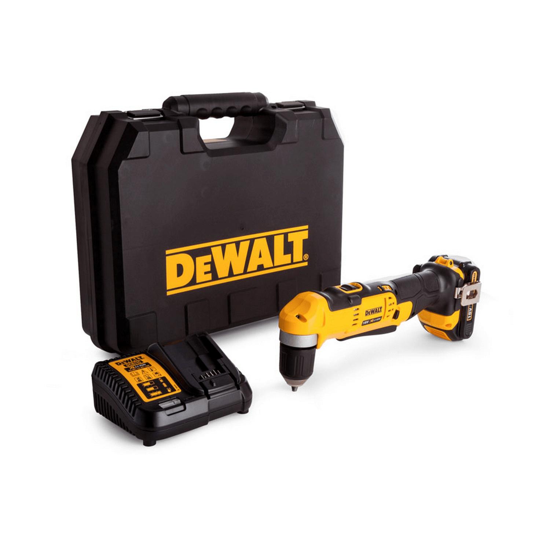 Акумулаторен ъглов винтоверт DeWALT DCD740C1 - 18 V, 1.5 Ah, 33 Nm