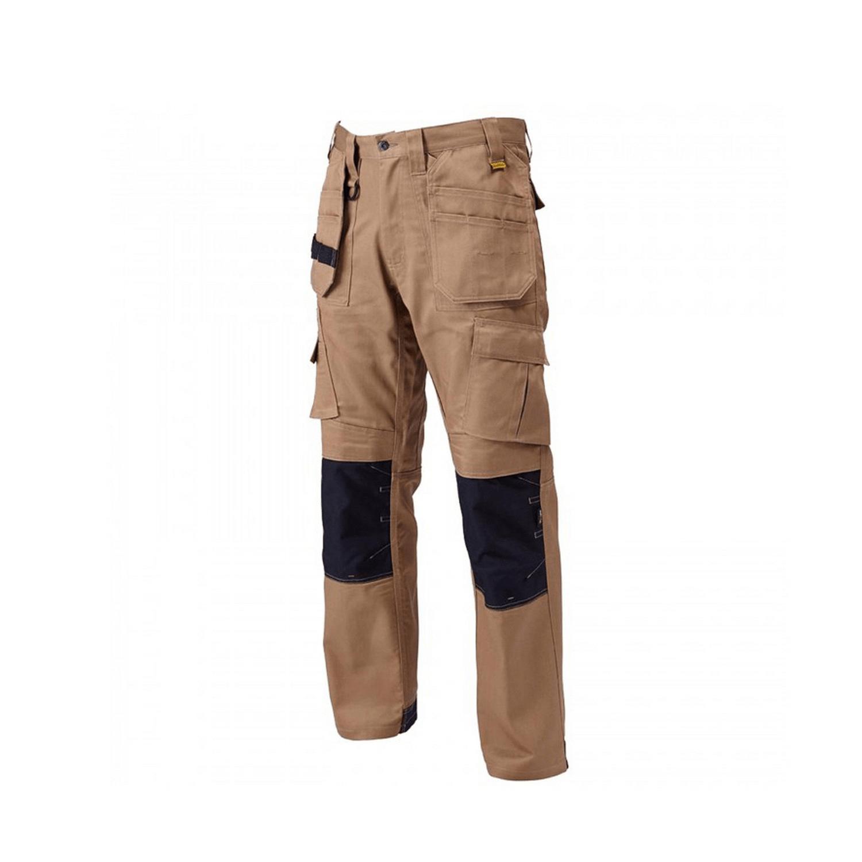 Панталон летен работен дълъг светлокафяв, размер XXL DeWALT Pro Tradesman