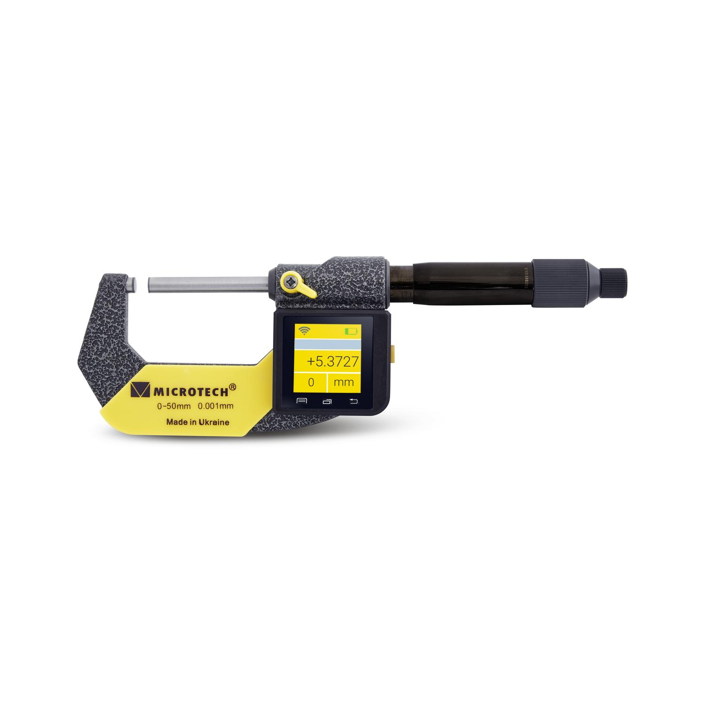 Дигитален микрометър Microtech SUB-MICRON DOUBLE RANGE COMPUTERIZED Wireless IP65, 0-50 mm, 0.0001 mm